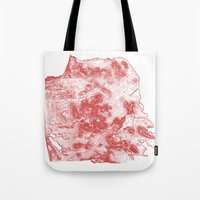 San Francisco Topography… Tote Bag
