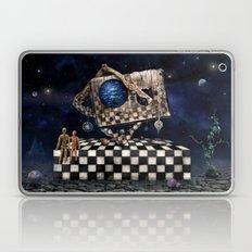 Aqua Space Laptop & iPad Skin