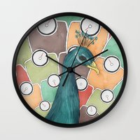 Weight Of Beauty Wall Clock