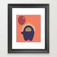Love Monster 4 Framed Art Print