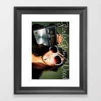GGDUB - Radio Framed Art Print