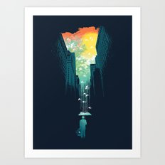 I Want My Blue Sky Art Print