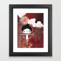 Letting Go Framed Art Print