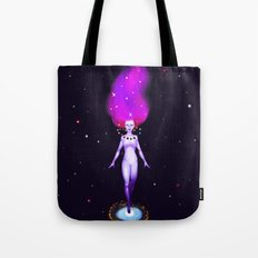 Universe God Tote Bag