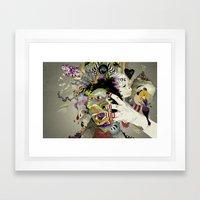 Aggro Framed Art Print
