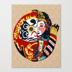 Japenese Dharma Canvas Print