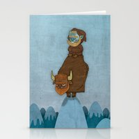 Man Of The Mountains Stationery Cards