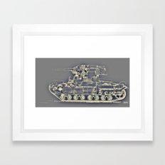Secret Light Old Russian… Framed Art Print