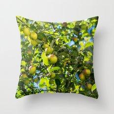 Swedish apples Throw Pillow