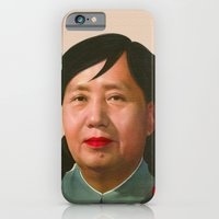iPhone & iPod Case featuring Auntie Mao Mao by happiestfung