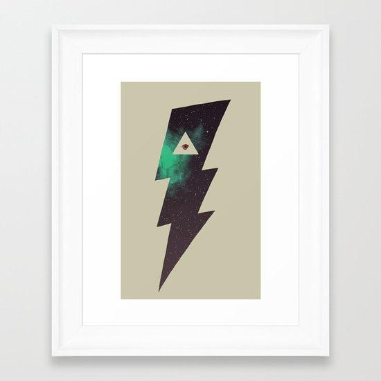 Dark Energy Framed Art Print