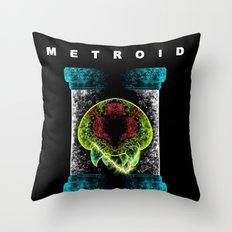 Metroid Throw Pillow