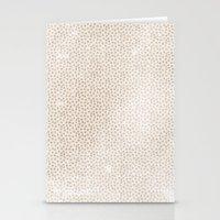 Creamy Dots Stationery Cards