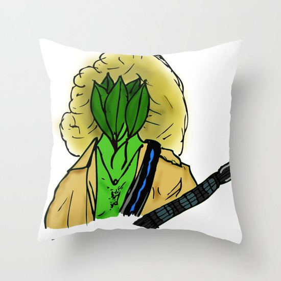 Peter Rampton Throw Pillow