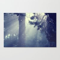 Forget Canvas Print