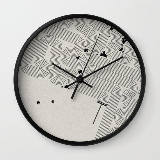 Zen Garden. Wall Clock
