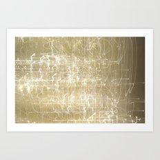 Exploding Fairies. Art Print