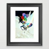 Fabricated Dreams Framed Art Print
