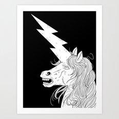 Thunderhorse Art Print