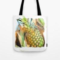 Fresh Pineapples Tote Bag