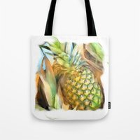 Fresh Pineapples Tote Bag