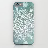 Turquoise Batik Mandala … iPhone 6 Slim Case