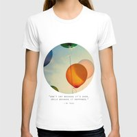 Happiness... Womens Fitted Tee White SMALL
