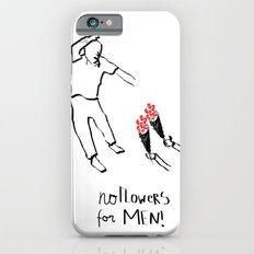 Flower men iPhone 6s Slim Case