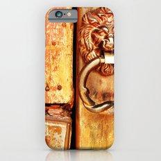 Lion door. iPhone 6 Slim Case