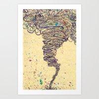 Funnel Art Print