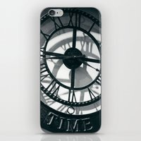 Time iPhone & iPod Skin