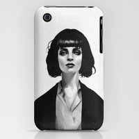 iPhone Cases featuring Mrs Mia Wallace by Ruben Ireland