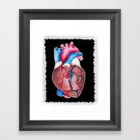 1 HEART 4 2 Framed Art Print