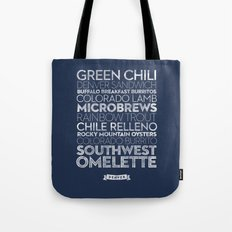 Denver — Delicious City Prints Tote Bag