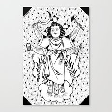 el divino niño Canvas Print