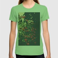 Summer Roses Series  - I… Womens Fitted Tee Grass SMALL