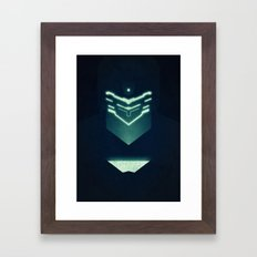 Isaac Clark / Dead Space Framed Art Print