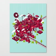 Sound City Canvas Print