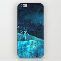 PAISAJE AZUL iPhone & iPod Skin