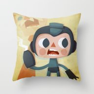 Megaman Throw Pillow