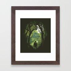 It's Dangerous To Go Alo… Framed Art Print