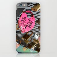 iPhone & iPod Case featuring Wynwood Locks by Shutterbee Photography