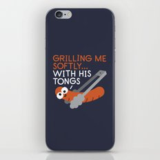 The Grates Leave Their Mark iPhone & iPod Skin