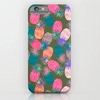 Pina Colada Bright iPhone 6 Slim Case