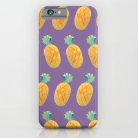 Pineapple Watercolor iPhone 6 Slim Case