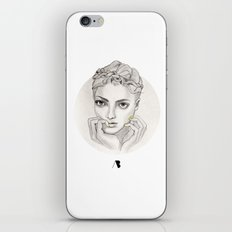 MY FAIR BRAIDY // CIRCLE iPhone & iPod Skin
