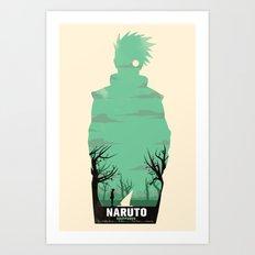 Naruto Shippuden Art Print