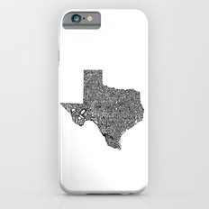 Typographic Texas Slim Case iPhone 6s