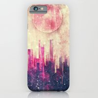iPhone & iPod Case featuring Mysterious city by SensualPatterns