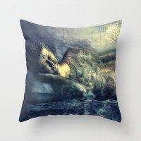 Deep Balance Throw Pillow